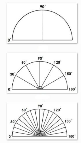 Protractors Are Confusing Teaching Children To Use Them Is Often Harder Than Teaching Them To Tell The Time Here S A Protractors Teaching Math Math Geometry Common core math worksheets protractor