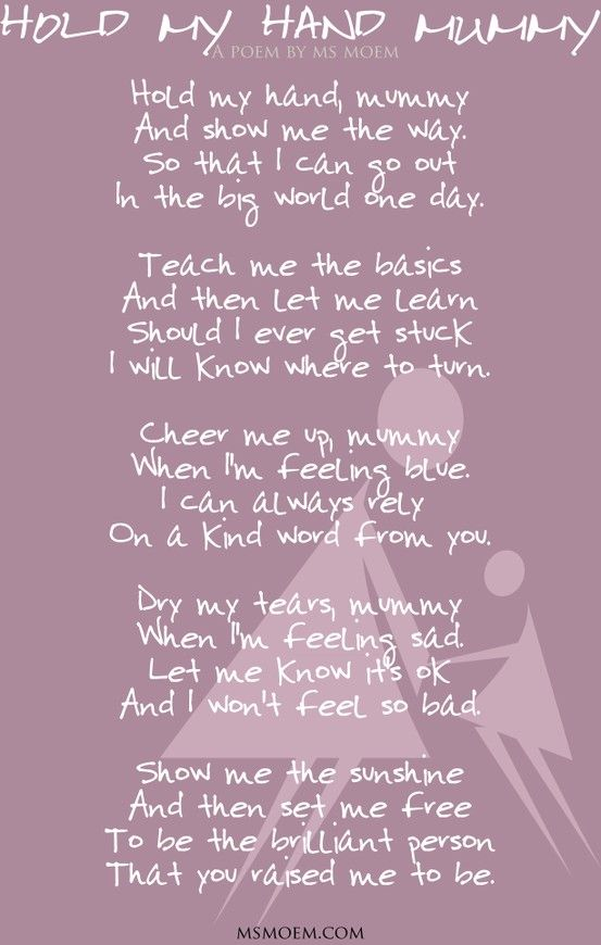 Mommy Poems Baby Girl