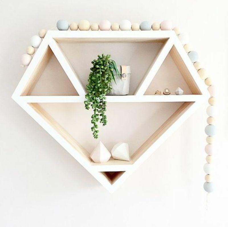 wandregal selber bauen anleitung in 6 schritten baby shelves decor bedroom. Black Bedroom Furniture Sets. Home Design Ideas