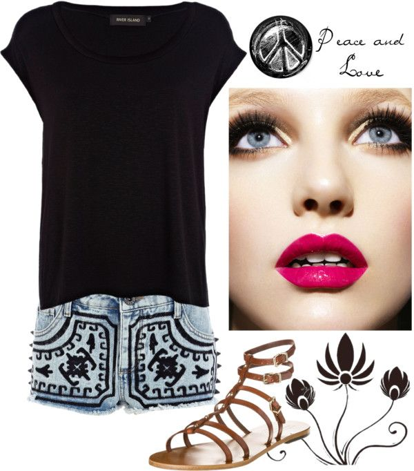 """""""Sem título #80"""" by thaianydasilva ❤ liked on Polyvore"""