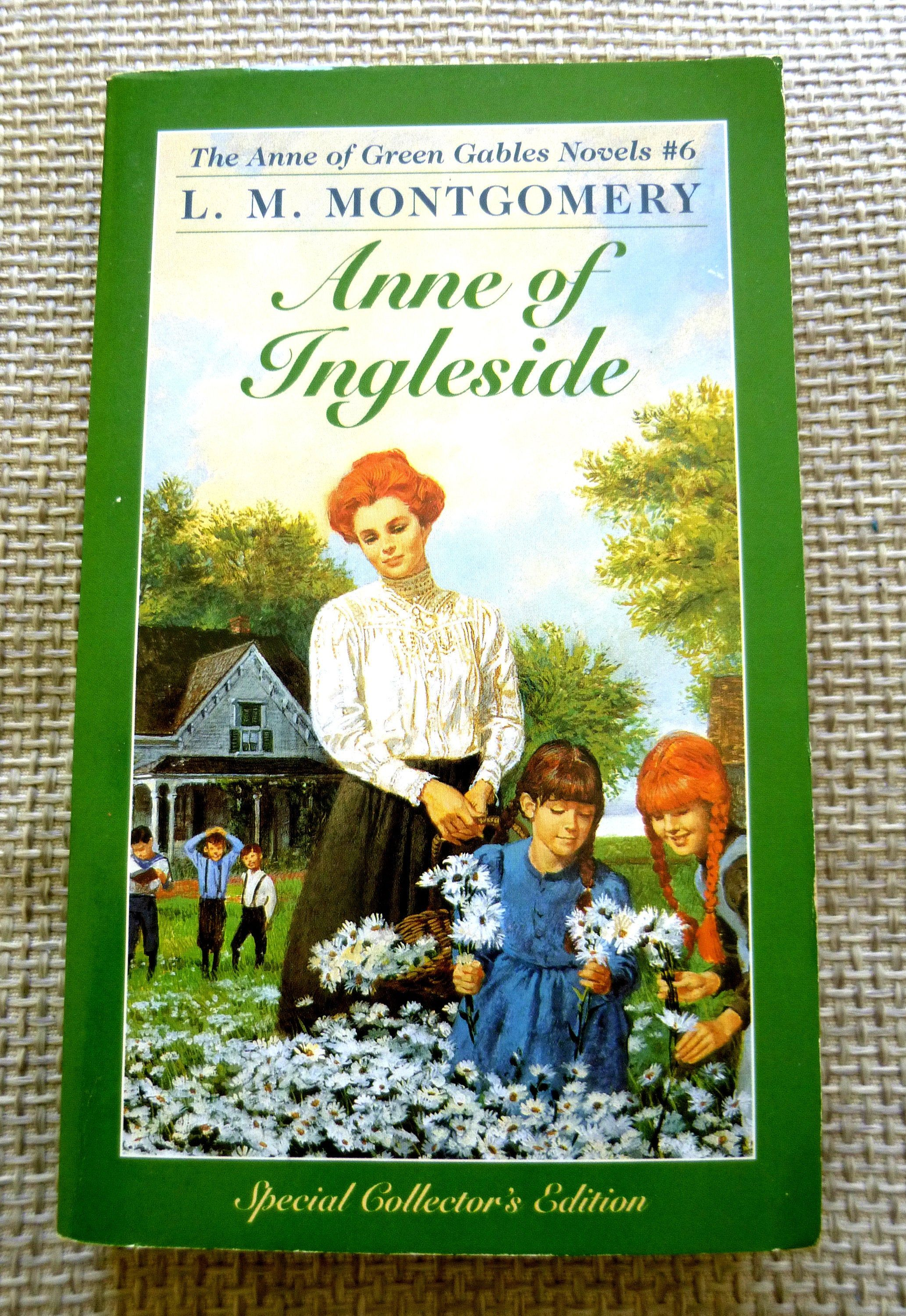 Anne Of Ingleside By L M Montgomery Anne Of Green Gables Series Anne Of Ingleside Ingleside Anne Of Green