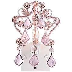 Maize Pink Chandelier Night Light | Baby #2!! | Pinterest | Pink ...