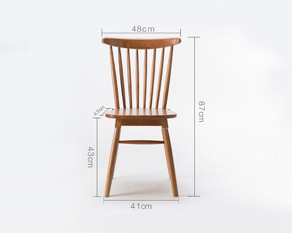 Solid Wood Dining Chairs Modern Lounge Seat Simple Kitchen Chair For Household Restaurant Cafe Lei Solid Wood Dining Chairs Lounge Seating Modern Dining Chairs