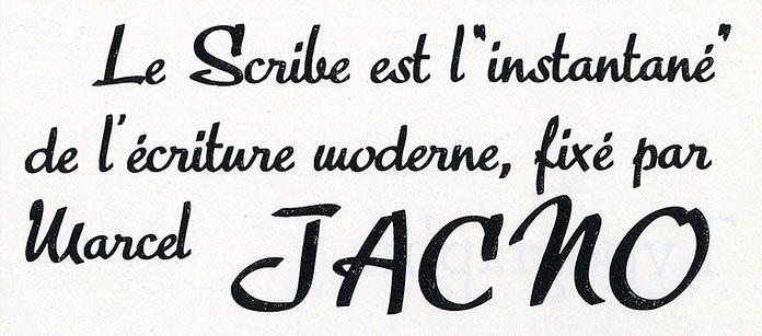 30 GLORIEUSES_FRANCE  Marcel-Jacno-typographie-le-scribe 1936