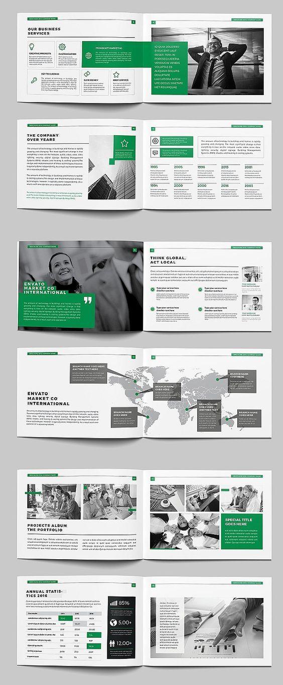 corporate brochure design pdf free download
