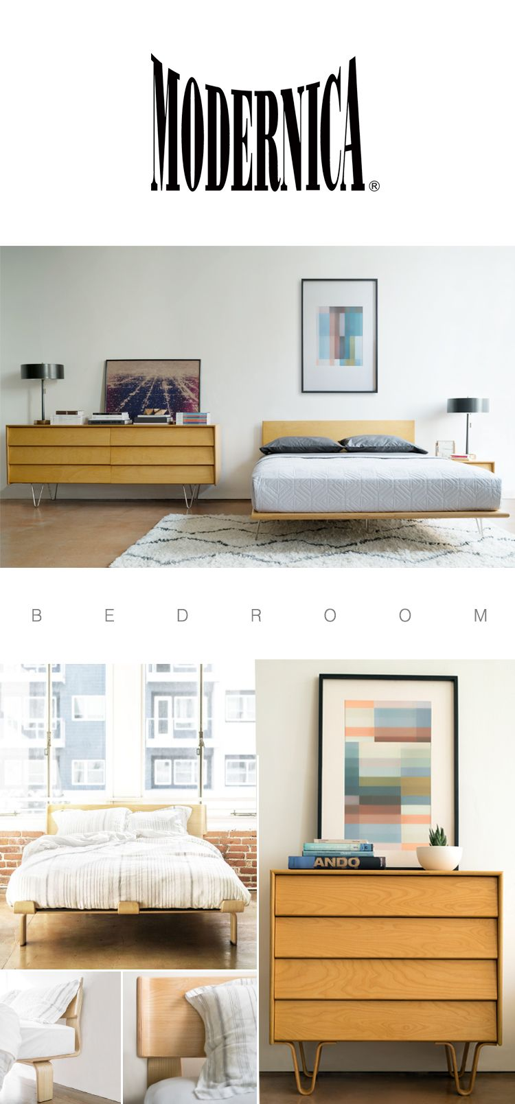 Modernica case study bedroom furniture made in los - Bedroom furniture in los angeles ...