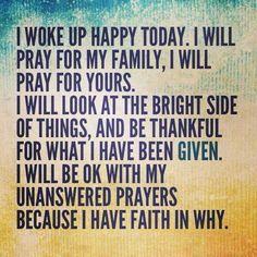 I know the power of prayer!!! I Believe!!
