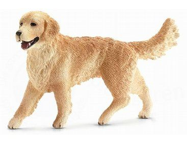 The Golden Retriever Female From The Schleich Dogs Collection