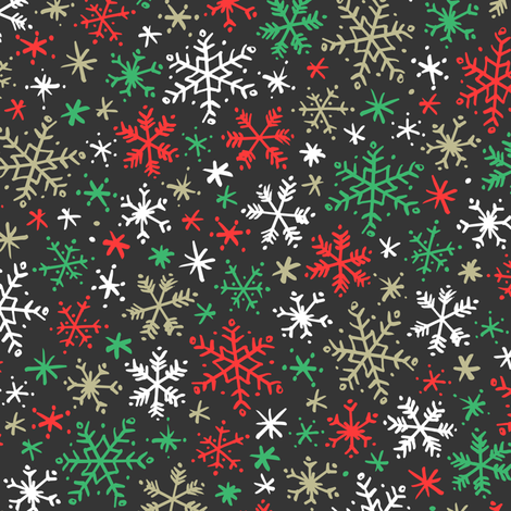 Colorful Fabrics Digitally Printed By Spoonflower Snowfall Dark Red And Green In 2021 Wallpaper Iphone Christmas Cute Christmas Wallpaper Christmas Phone Wallpaper