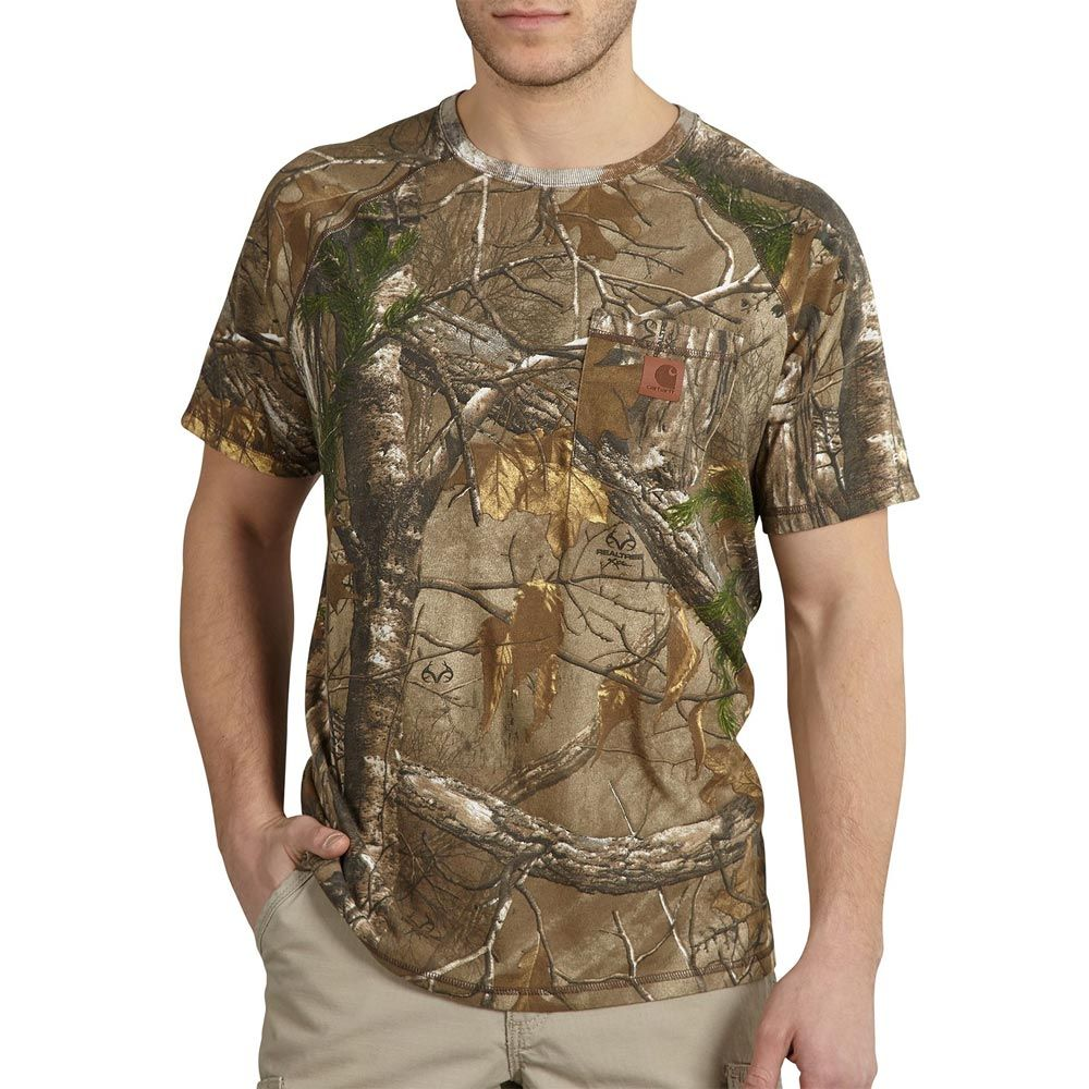 98675432bf Carhartt K287 - WorkCamo® Short Sleeve Pocket T-Shirt | Camo ...