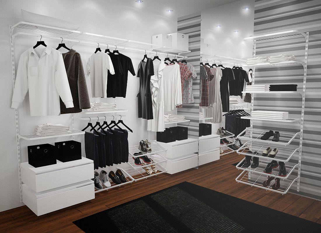 Opção closet Closet aramado, Closet, Cabide de roupas