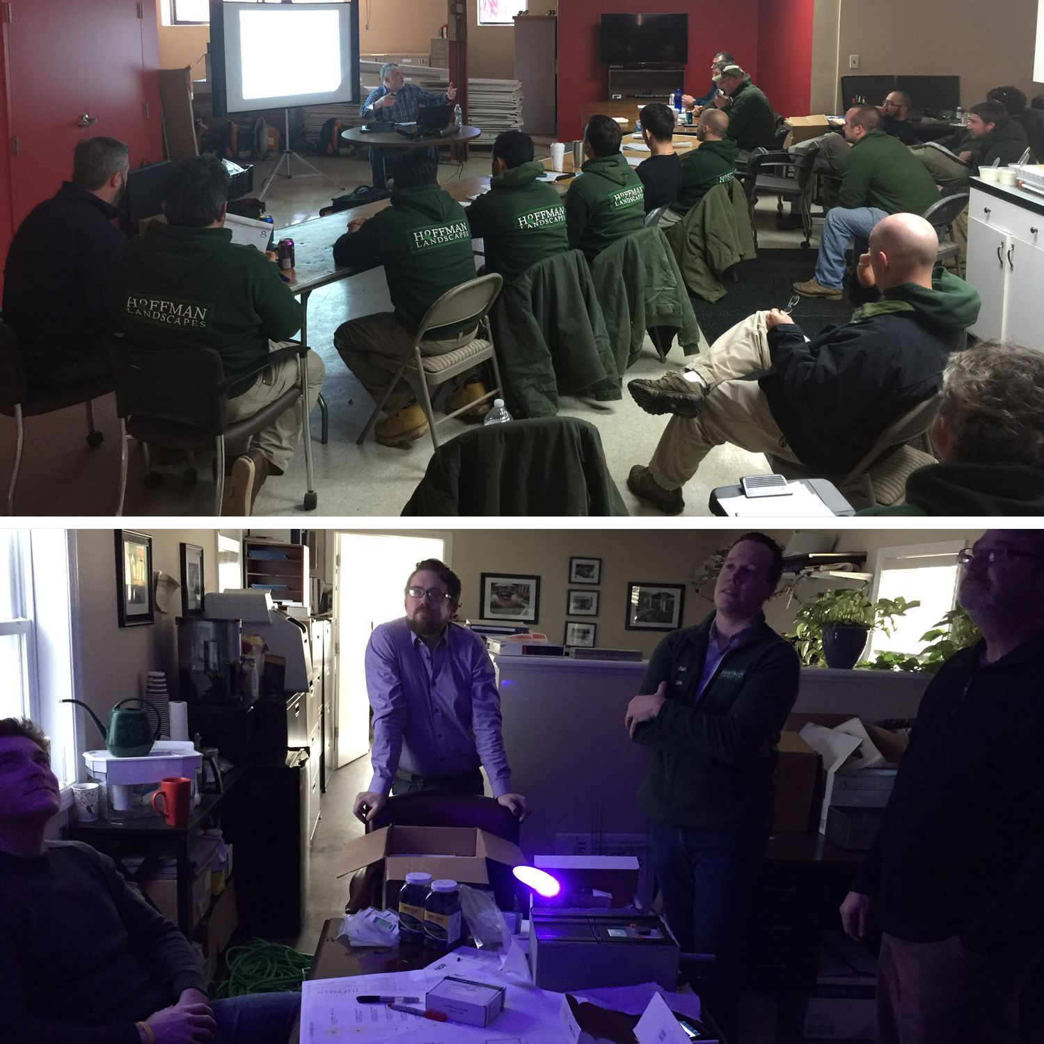 Our Experts Never Stop Learning From Osha Training To New Product Demonstrations The World Of Property Mainte Landscape Design Landscape Never Stop Learning