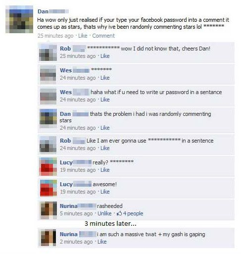 Extremely Funny Facebook Status Messages