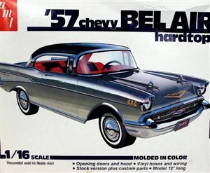 Amt 57 Chevy Bel Air 1 16 Kit Box Art Model Kit 57 Chevy Bel