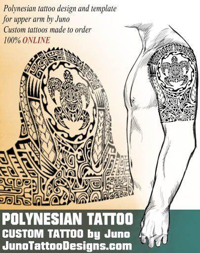 Polynesian Samoan Tattoo Turtle Tribal Tattoo Juno Tattoo