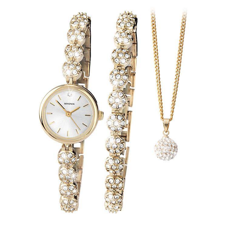 Sekonda Las Watch Bracelet Necklace Set Product