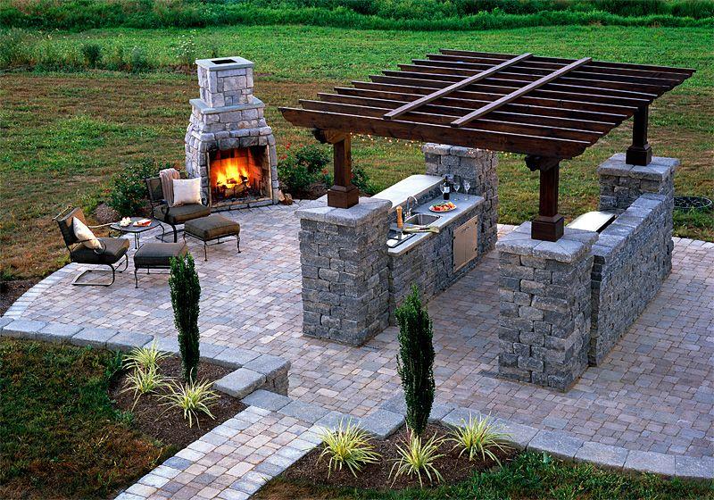 Good Fresh Modern Design: Outdoor Summer Kitchen