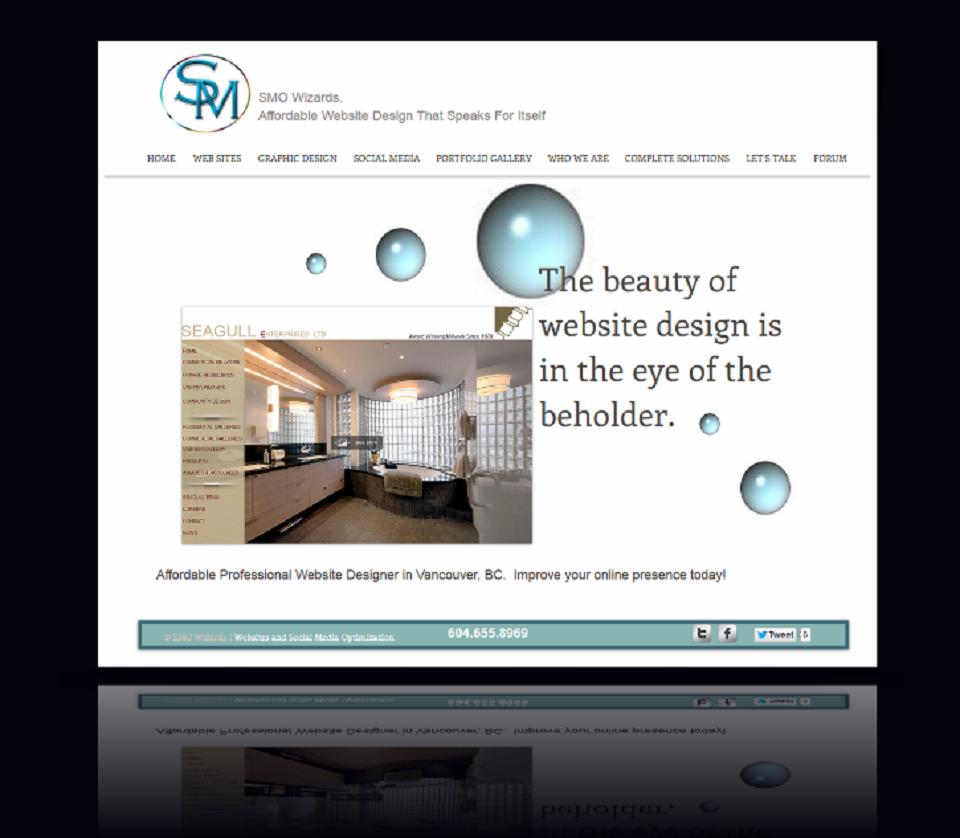 Smo Wizards Website Design Vancouver Bc Website Design Web Design Professional Website