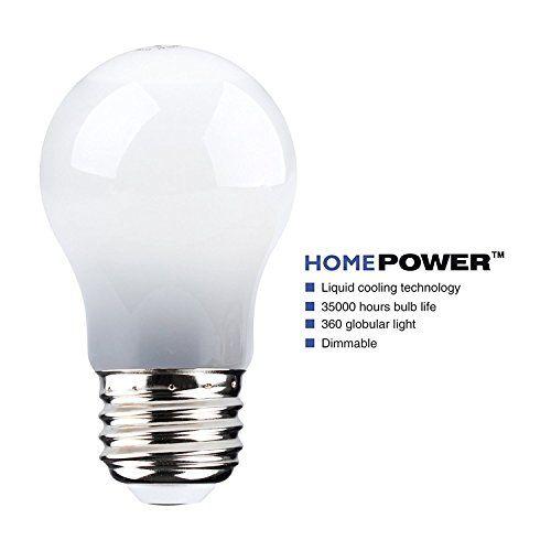 A15 Led Bulbs Homepower 6w E26 Liquidcooled Led Light Bulbsdimmable60w Incandescent Bulb Equivalent650lmmedium Screw Base3000k Led Lights Led Light Bulbs Bulb