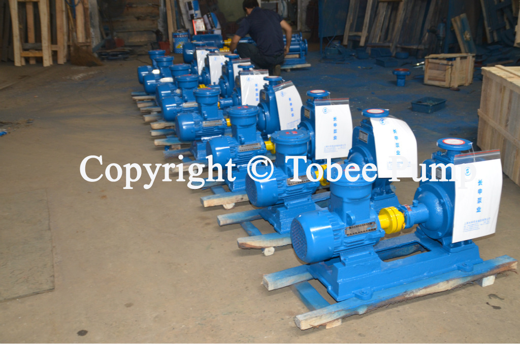 TX Self priming Pump is suitable for transporting Clean
