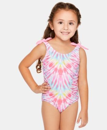 8c1e424f71 Summer Crush Little Girls Electric Wave Swimsuit - Multi 4 in 2019 ...