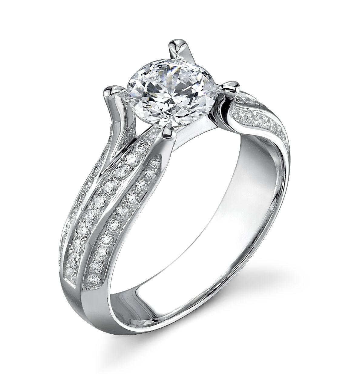 Sylvie SY013 Mark Allen Jewelers Wedding rings, Jewels