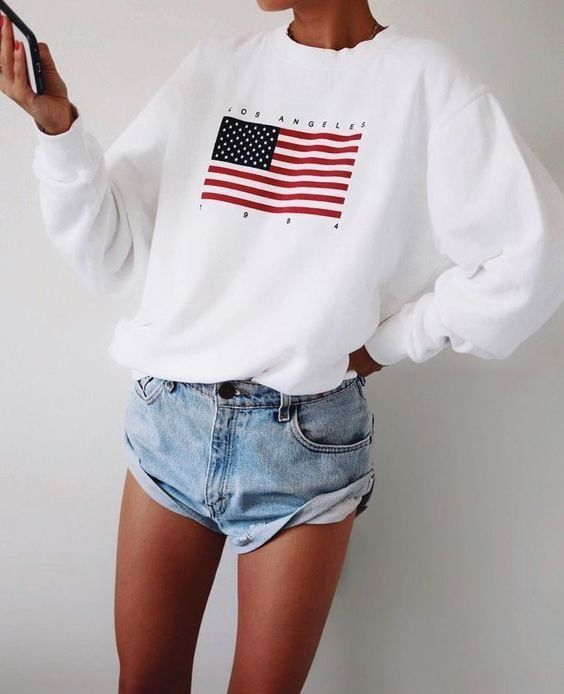 4th of July Outfit Inspiration + Where to Buy Affordable USA Clothing #holidaysinjuly