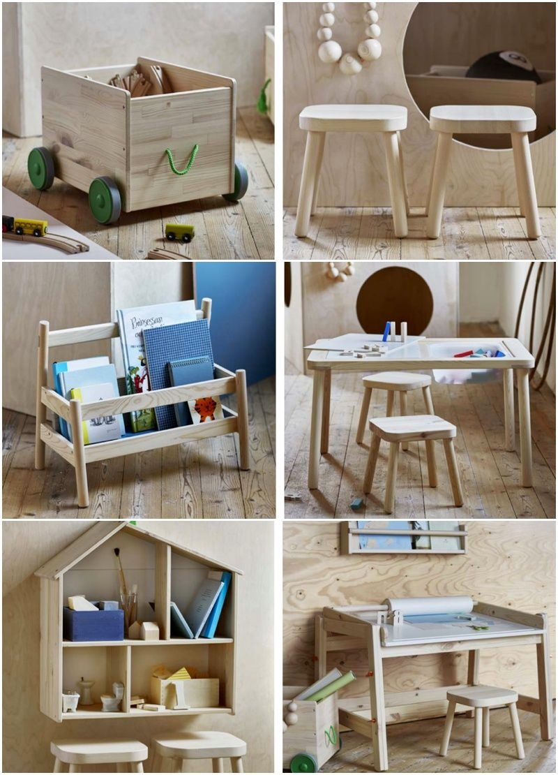 Playroom Goals New Wooden Kids Furniture Line From Ikea With