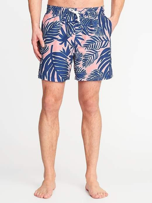 c4061b57cc0 Printed Swim Trunks for Men - 6-inch inseam in 2019   Products ...