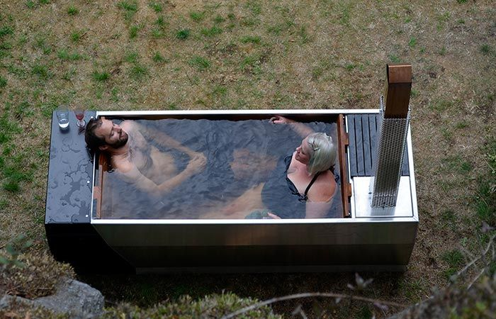 Bath  SOAK is an outdoor Outdoor hot tubs Hot and Tubs