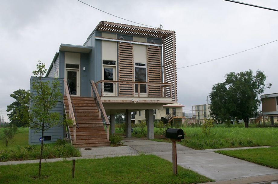 Modern Architecture New Orleans brad pitt houses in new orleans' 9th ward | brad pitt house and house