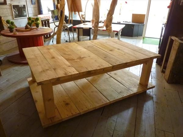 Marvelous How To Make Your Own Wood Coffee Table