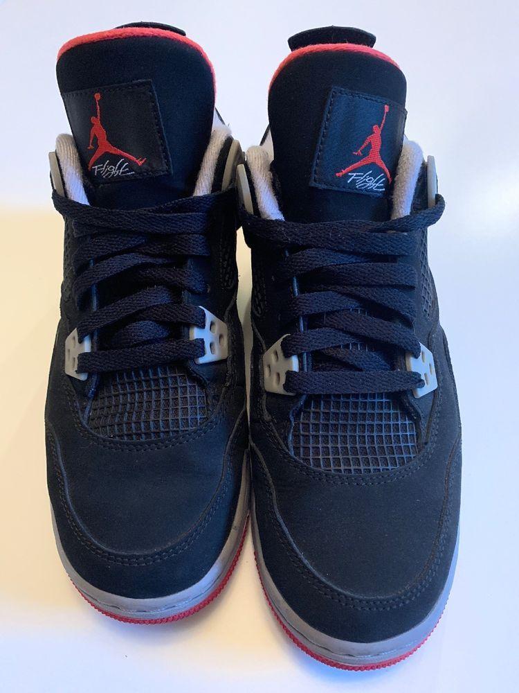 db899ce57dd82f Pre-owned Jordan Retro 4 IV Bred 2012 Size 6 Boys  fashion  clothing  shoes   accessories  kidsclothingshoesaccs  boysshoes (ebay link)