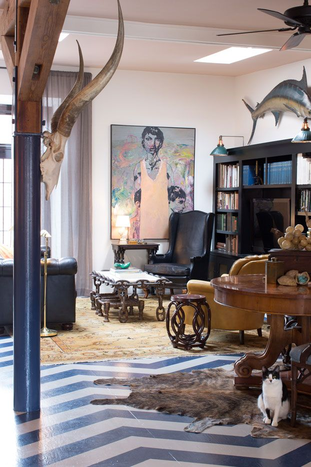 Inside A Bohemian Carriage House With Images Country House