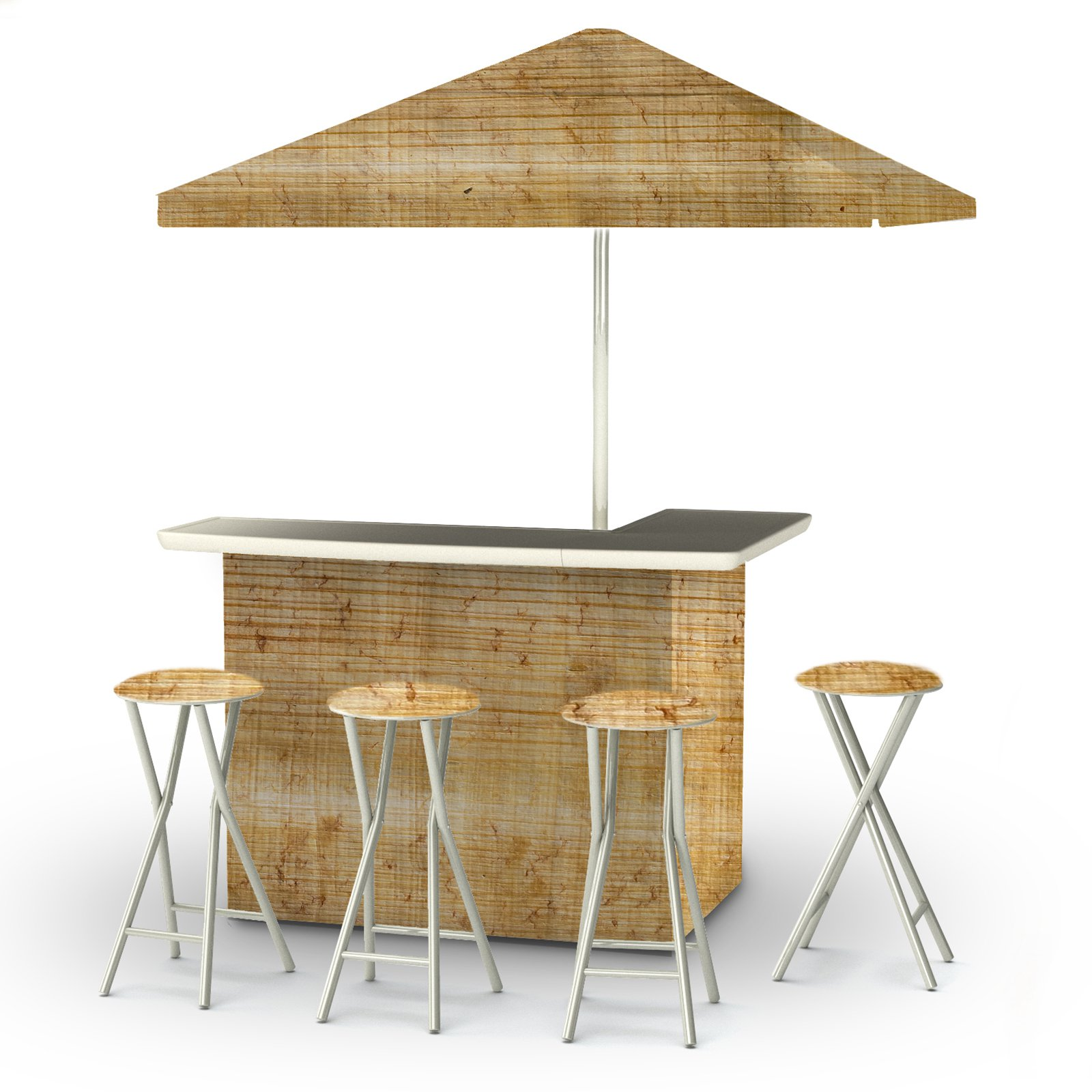 Enjoyable Best Of Times 6 Piece Portable Deluxe Outdoor Bar Set In Beutiful Home Inspiration Aditmahrainfo