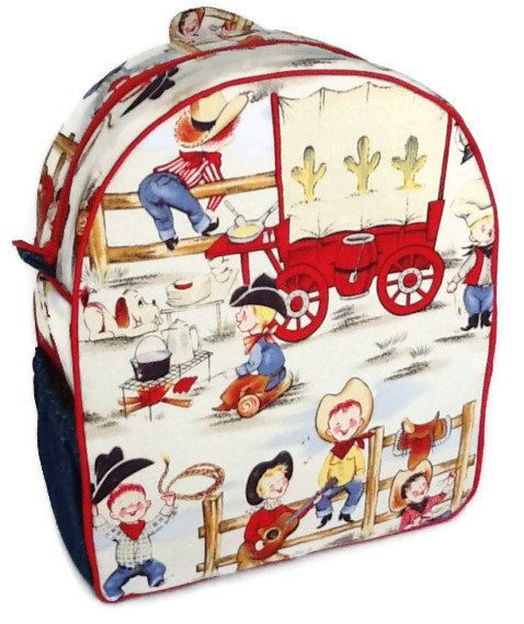 Toddler Backpack, Preschool Backpack, Boys Backpack, Girls Backpack, Cowboy  Backpack, Cowgirl Backpack, Lil Cowpokes Fabric Backpack on Etsy,  45.00 0dc0c2fca6