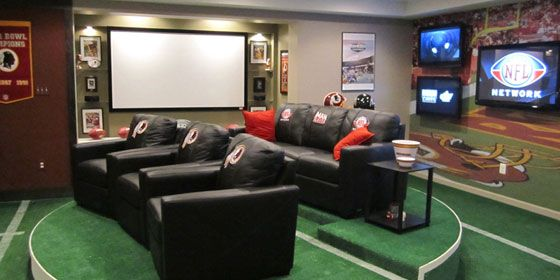 20 Sports Man Cave Ideas Home Design Interior Decorating Bedroom Gecut