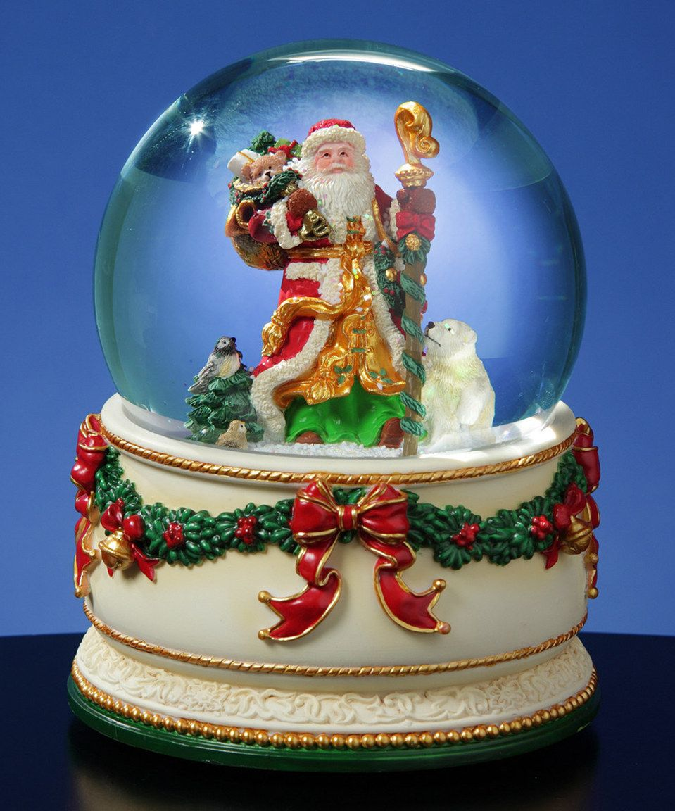 Christmas Journey Musical Snow Globe by The San Francisco