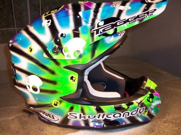 Nice Custom Helmet Paint Jobs Custom Helmet Paint Custom