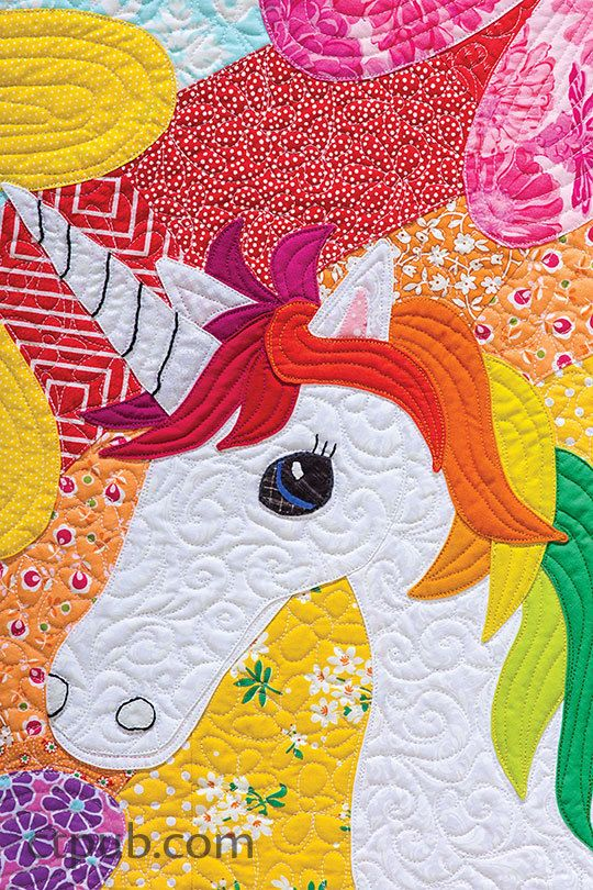 The Magical Unicorn Quilt Quilt Patterns Quilts