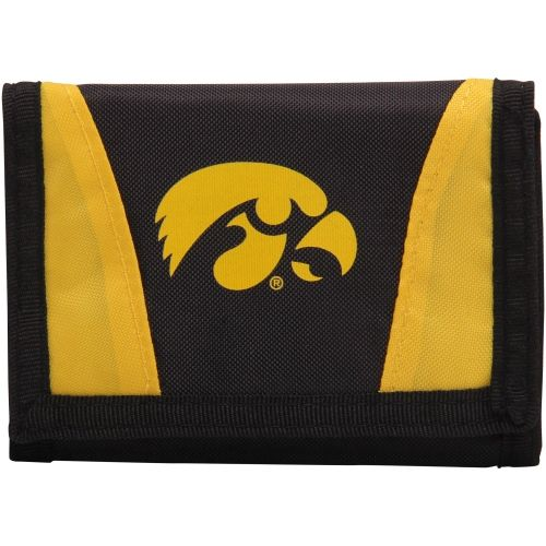 College Iowa Hawkeyes Chamber Nylon Wallet