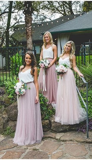vintage boho bridesmaid dresses