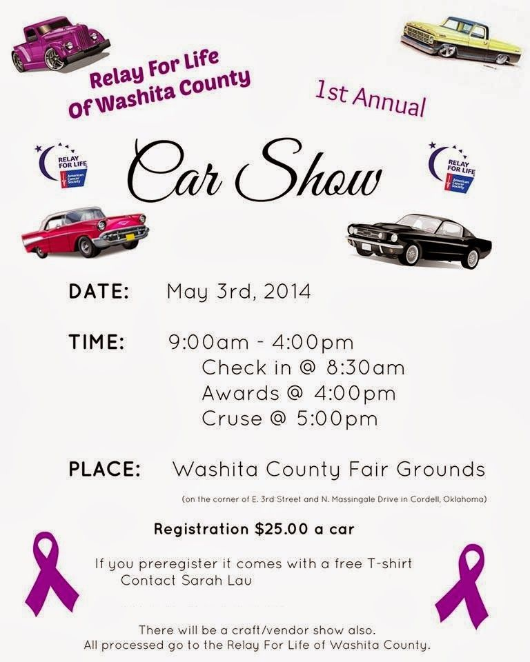 The Little Things In Life Relay For Life Fun Day Go Check Out My - Fun car show ideas