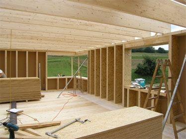 In Rekordzeit von 3,5 Monaten wurde dieses Strohballen-Passivhaus Anfang 2006 fertiggestellt