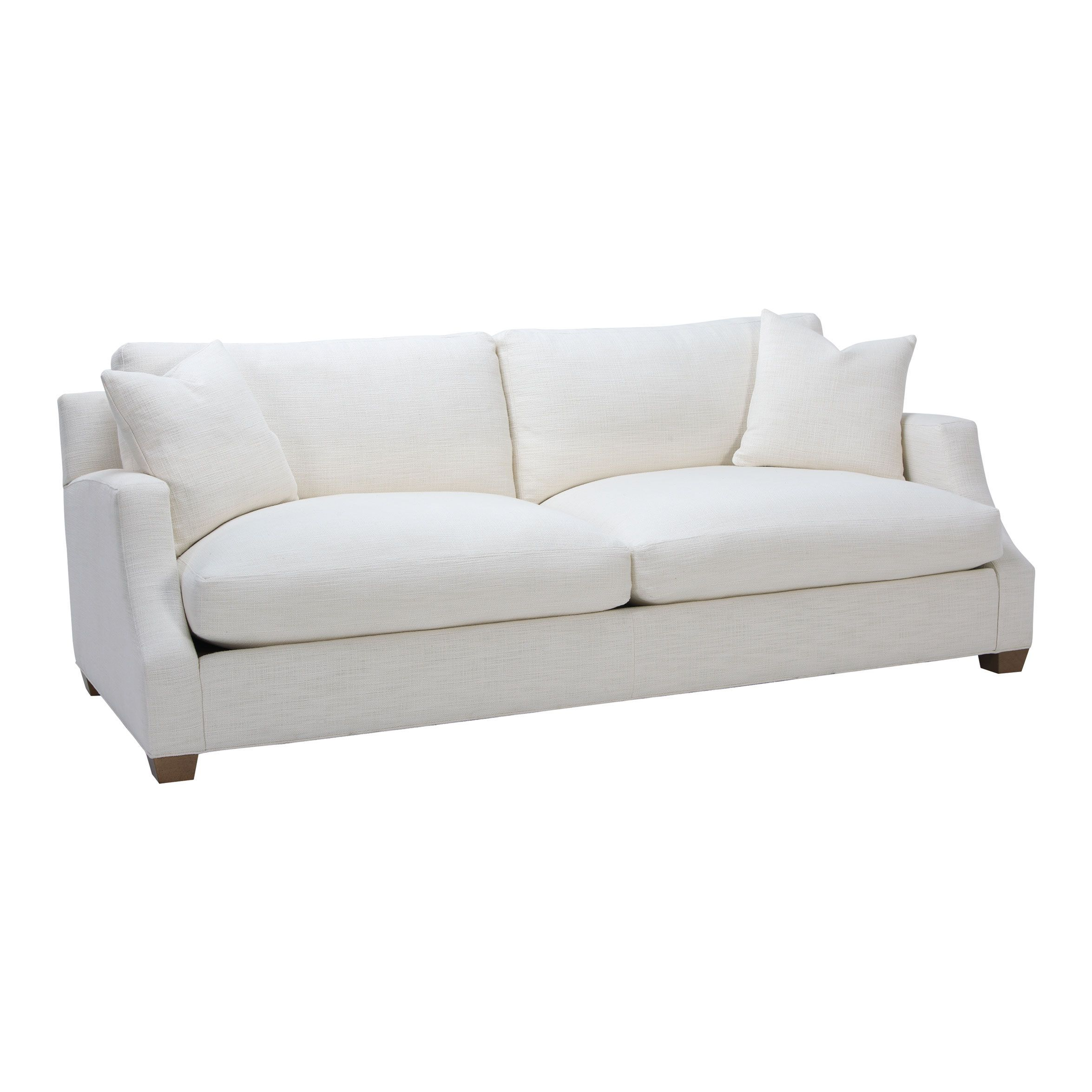 Neutral Interiors Lynn Sofa Niles Natural Ethan Allen US