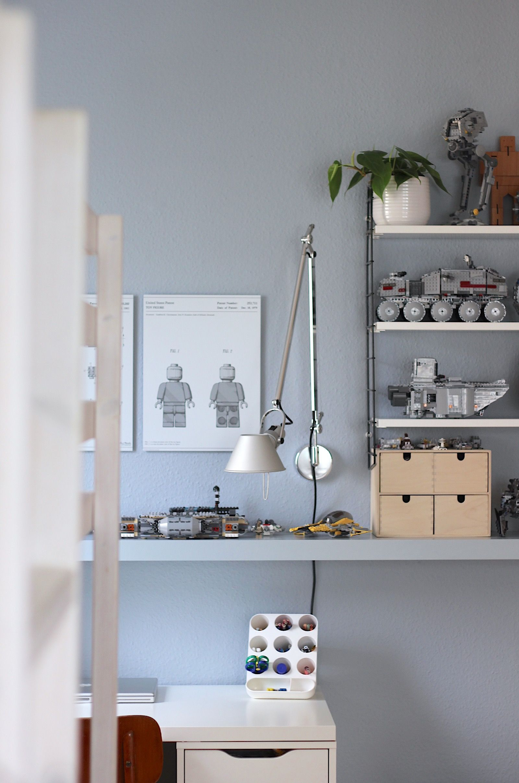 lego wand ton in ton kinderzimmer und co. Black Bedroom Furniture Sets. Home Design Ideas