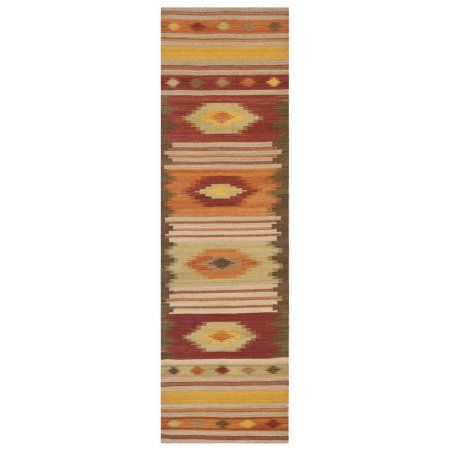 Safavieh Navajo Kilim Cabrail Flat Woven Wool Area Rug ...