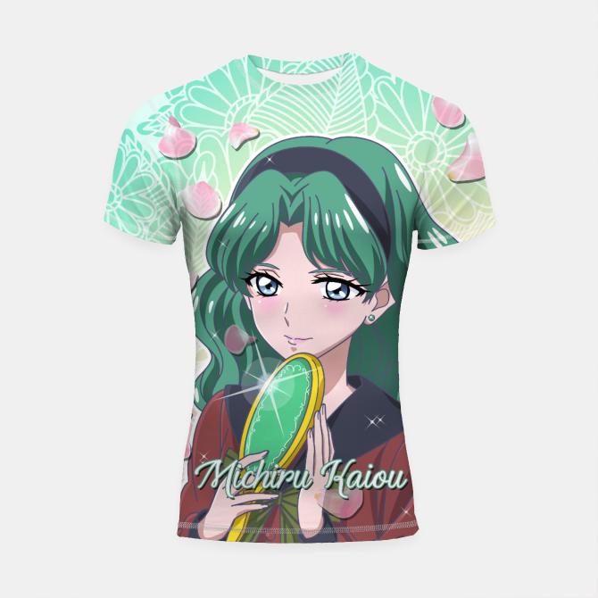 Sailor Moon Michiru Kaiou Shortsleeve Rashguard