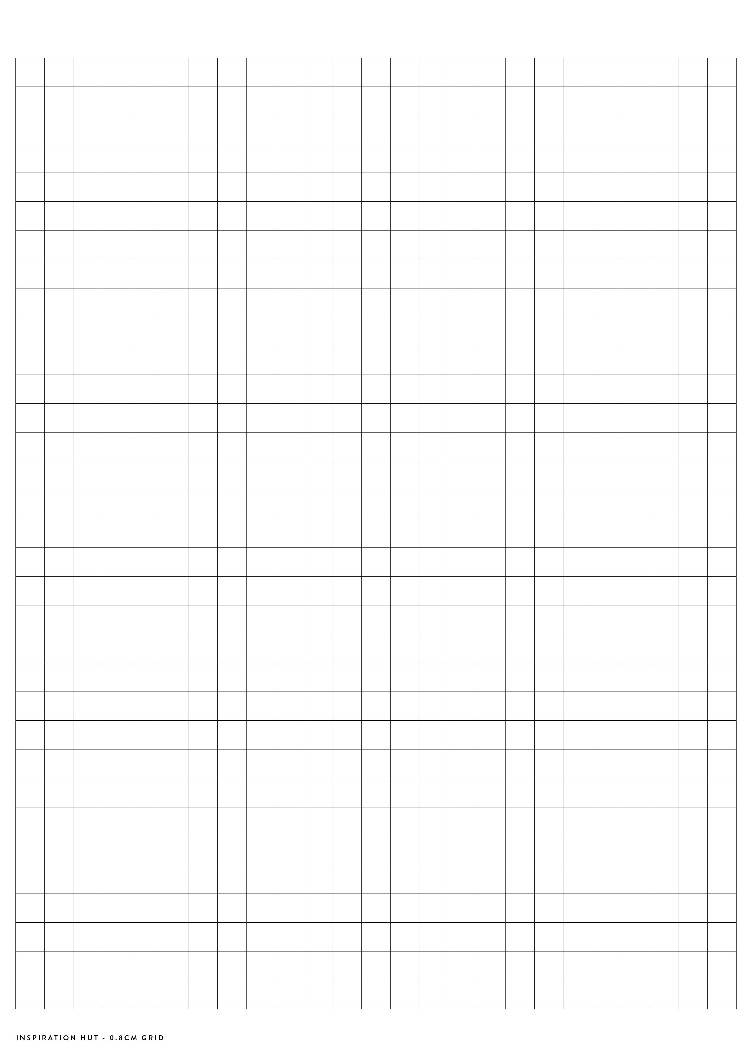 Printable Graph  Grid Paper Pdf Templates  Planners