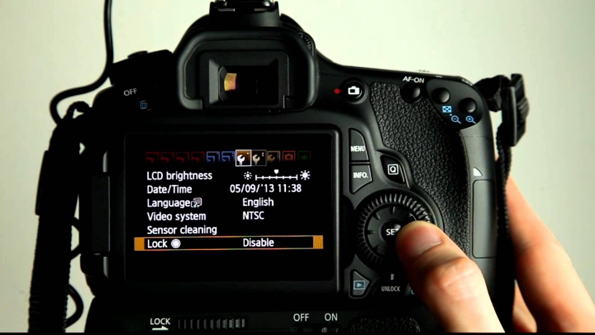 Canon EOS 60D Tutorial Video 16 - My Menu | Eos, Canon eos ...